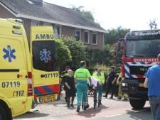Gewonde bij woningbrand in Barneveld
