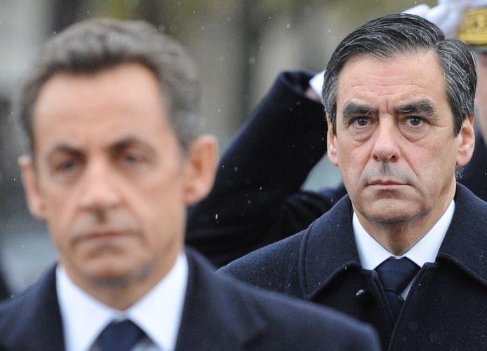François Fillon, alors Premier ministre sous la présidence de Nicolas Sarkozy (novembre 2010)