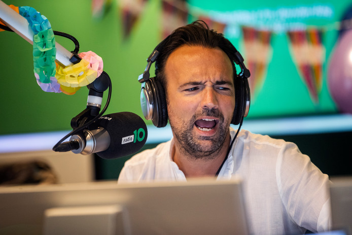 Radio-dj Gerard Ekdom.