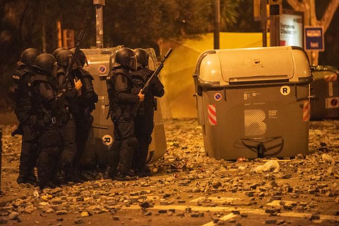 Débordements et violences à Barcelone - nuit du 18 au octobre