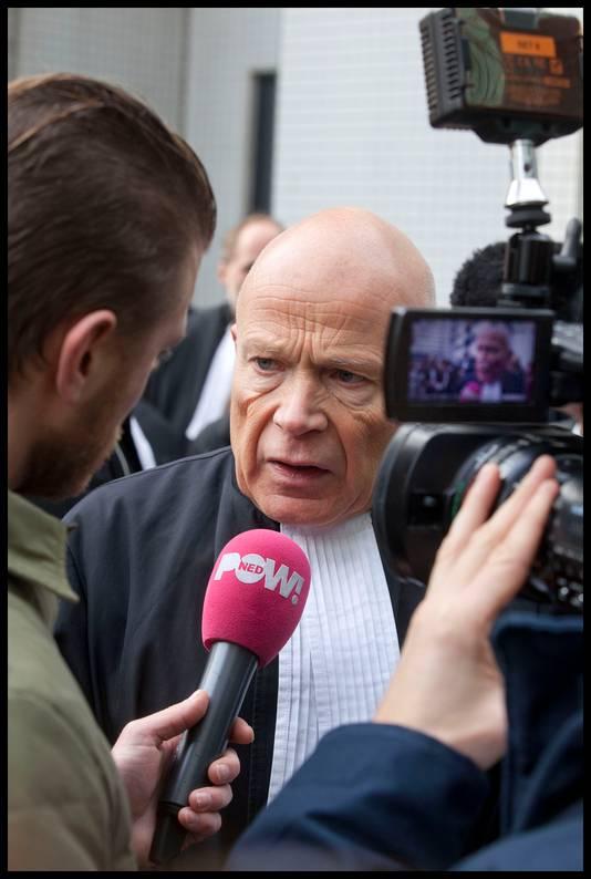 Advocaat Peter Plasman van de Partij voor de Niet-Stemmers
