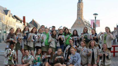 Scouts en gidsen maken zich op voor Jamboree in West-Virginia