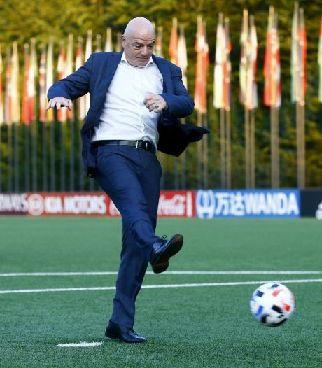 FIFA-baas Infantino niet geïnteresseerd in Europese topcompetitie: 'Ik kijk naar groter WK clubteams'