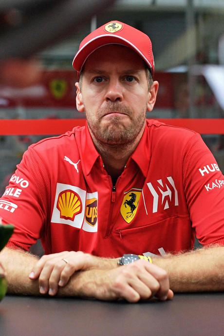 Vettel niet blij met uitspraken Verstappen: 'Het is erg onvolwassen'
