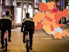 KAART | Minder positieve coronatests in Oost-Nederland, slechts één gemeente scoort slecht