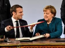 Frankrijk en Duitsland tekenen nieuw vriendschapsverdrag