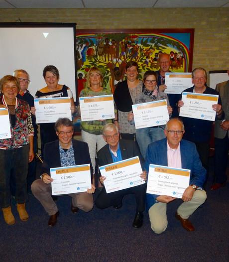 Blije gezichten bij Vincentiusvereniging Heusden: 13.000 euro opgehaald voor maatschappelijke projecten