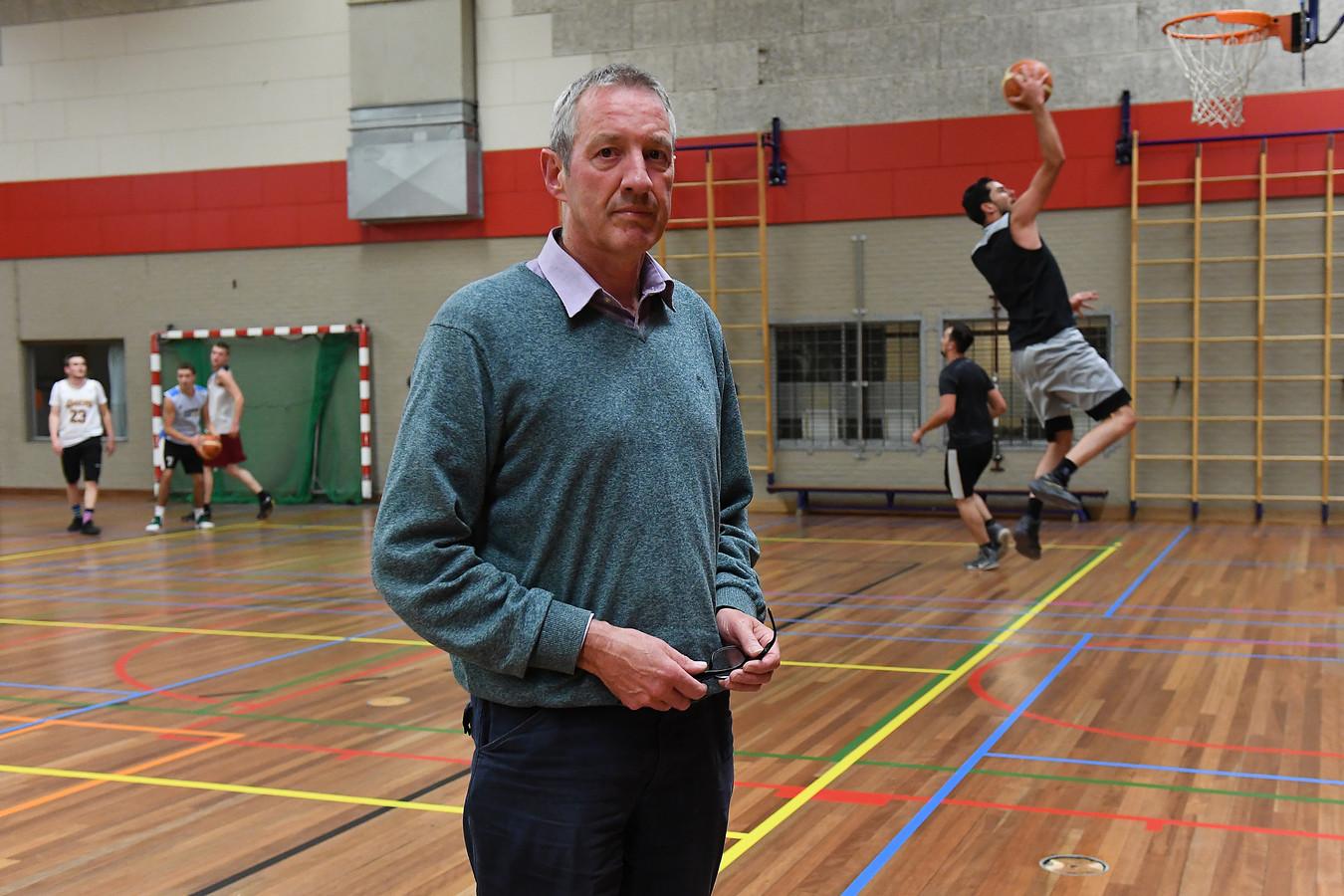 Marcel Albers, trainer van Akros.