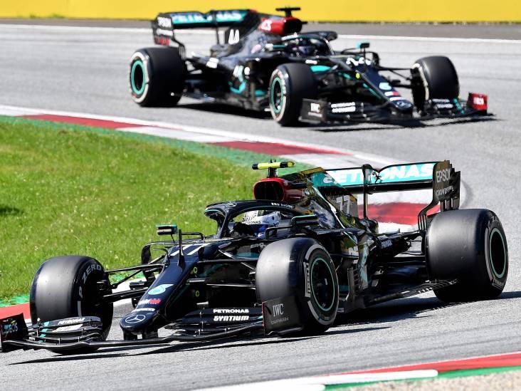LIVE | Bottas en Hamilton strijden om winst in Oostenrijk, sensorproblemen bij Mercedes