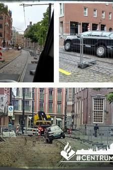 Taxichauffeur neemt 'onfortuinlijke' route door centrum