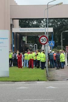 FrieslandCampina in Lochem ontruimd vanwege lekkage salpeterzuur