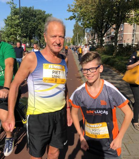 Alle lopers Marathon Eindhoven zijn op weg naar de finish
