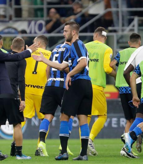 De Vrij boekt met Inter krappe zege op tien van Udinese