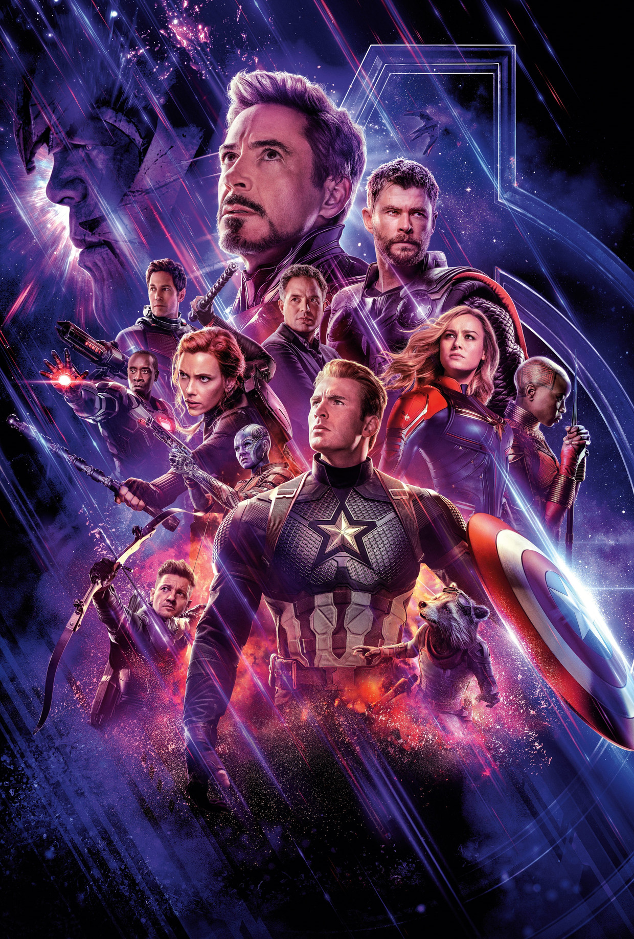 De affiche van 'Avengers: Endgame'. Beeld Photo News