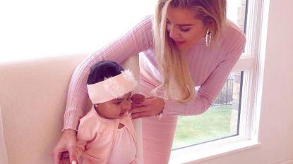 Khloé Kardashian spendeerde Thanksgiving met man die haar bedroog tijdens zwangerschap