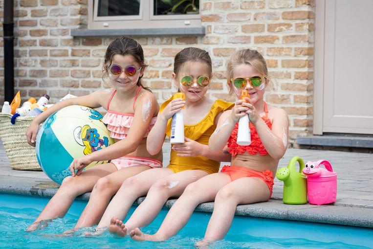 Dermatoloog Thomas Maselis test 12 zonneproducten voor kinderen.