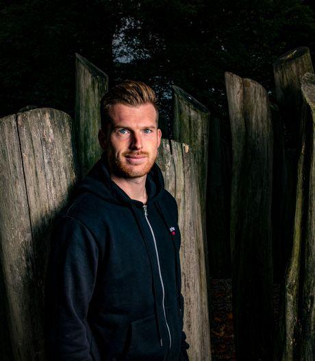 Verliezen is geen pretje bij Apeldoornse keeper van Heracles Michael Brouwer: 'Ik wil altijd en overal mee winnen'