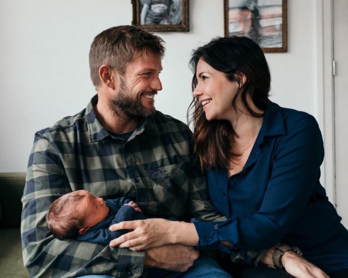 Boer Marc, Merel en hun zoontje