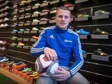 Marco Wientjes op schot voor Sportclub Bemmel