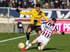 Jong Brabant verzet wedstrijd voor Willem II-NAC: 'De helft van de selectie zat in het stadion'