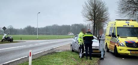 Vrouw loopt hoofdletsel op bij ongeval in Rossum