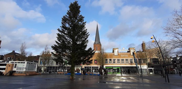 Kerstboom op de Markt