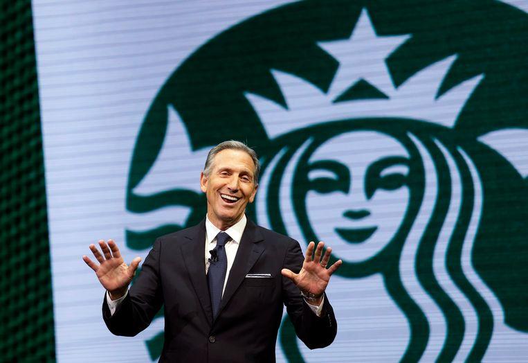 Ex-topman van koffieketen Starbucks Howard Schultz.