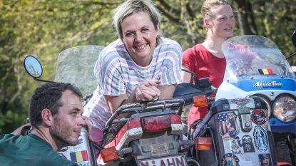 """Annemie Struyf vanuit eigen lockdown op virtueel bezoek bij de 'Eviva Espana'-Belgen: """"Blij dat ik nu in België woon"""""""