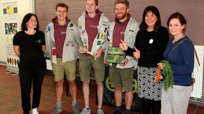 Scouts St. Kristoffel Scheldewindeke krijgt Nobelprei