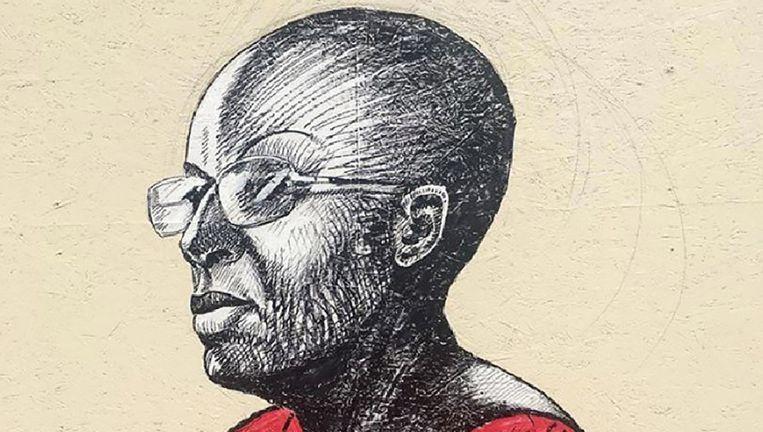 Eskinder Nega Ethiopië Journalist die tot 18 jaar veroordeeld werd vanwege zijn kritische artikelen over de Ethiopische regering. Beeld Shwan Dler Qaradaki & Johannes Hoie