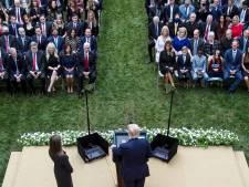 Was tuinfeest bij het Witte Huis de boosdoener? Opvallend veel aanwezigen hebben nu corona