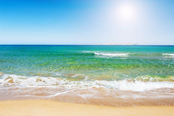 Illustratiebeeld: Een strand.