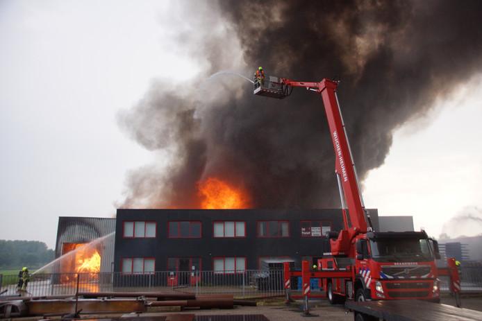 De grote brand in Druten.
