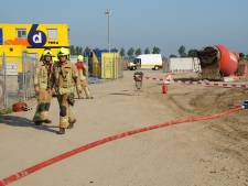 Bouwplaats ontruimd na gaslek in Zuidland