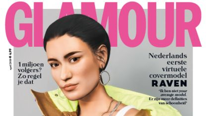 Nederlands modemagazine zet eerste virtueel model op de cover