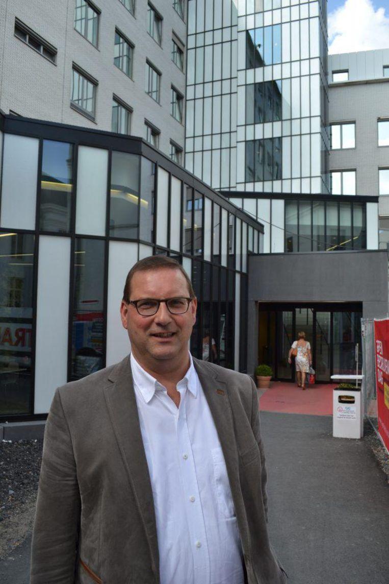Stefaan Vercamer, voorzitter van de raad van bestuur van het AZ Oudenaarde.