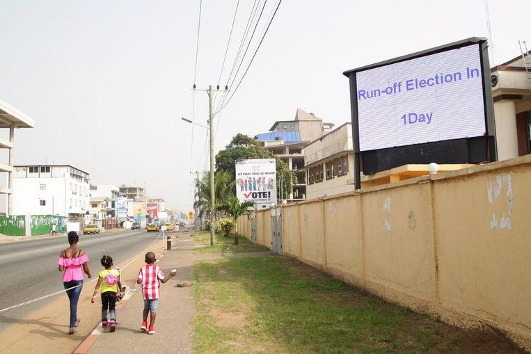 Het aftellen naar de verkiezingen. Beeld anp
