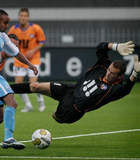 Arjan Christianen debuteerde al op zijn zeventiende als keeper bij NAC: 'Uiteindelijk net te weinig geluk gehad'