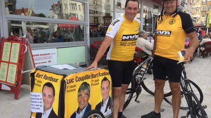 Bart Rambour trapt campagne op gang met fiets