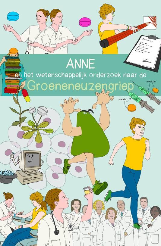 Stripverhalen moeten kinderen overhalen proefpersoon te worden. Illustratie Irene Cécile