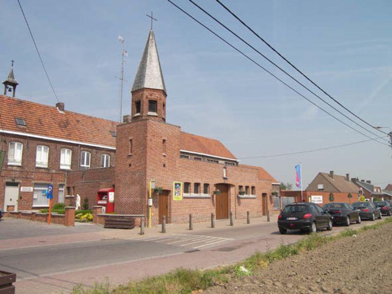 De Paanderskerk in Meulebeke, vlak naast de Paandersschool.