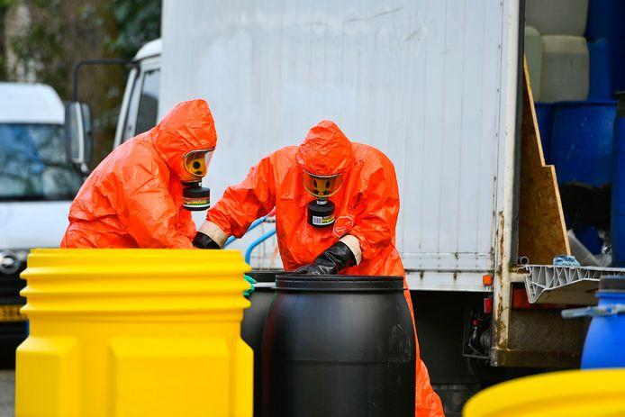 Brutale drugsdumping in centrum Bergeijk.