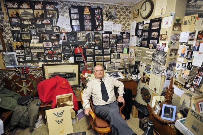 De 84-jarige Bep van den Berk, 43 arbeidsjaren op de leerfabriek van Oisterwijk