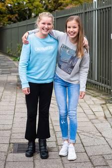 Jitte en Tara zijn sinds de eerste schooldag bijna onafscheidelijk: 'We spreken veel af'