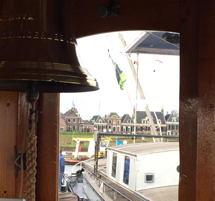 Ameide vanaf het antieke schip Terra Nova.