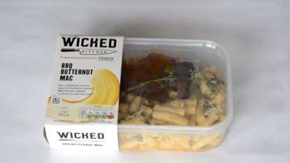 Veganistische maaltijden Britse supermarkten bevatten vlees