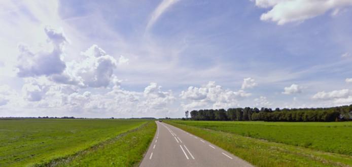 De Kwelderweg bij Kollumerpomp.