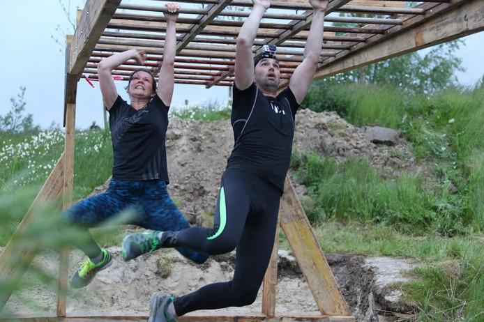 De obstaclerun in Netl de Wildste Tuin bestaat uit een parcours met allerlei hindernissen.