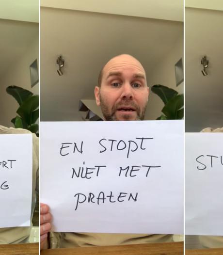 Jeroen (47) deelt typisch quarantaineprobleem en gaat viral: 'Mannen én vrouwen herkennen zich hierin'