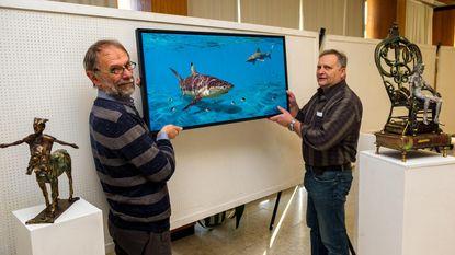 Ronny Moortgat en Roger Pintens Jr. stellen voor het eerst samen tentoon